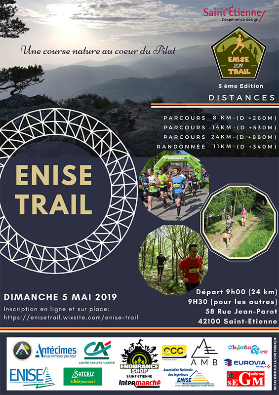 Affiche - ENISE Trail