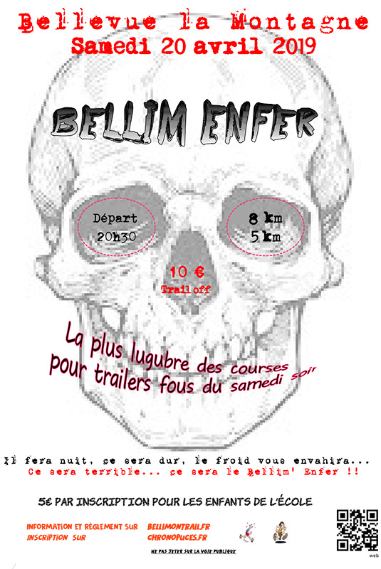 Affiche - Bellim Enfer